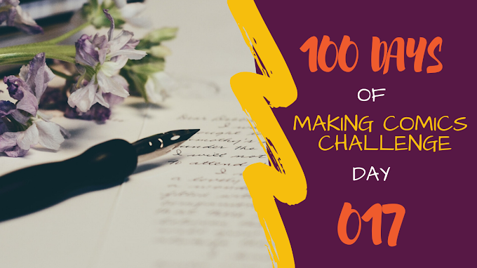 100 Days of Making Comics 017 | Writing Sprints - Outlining