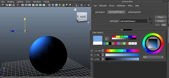 Intensity, color attribute, color settings, pixel stuff