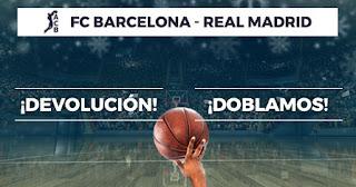 Paston promo acb Barcelona vs Real Madrid 28 diciembre 2019