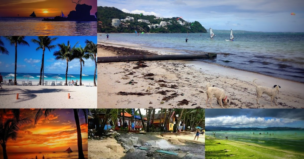 Boracay is planned for a 4 month rehabilitation due to sewerage leaks