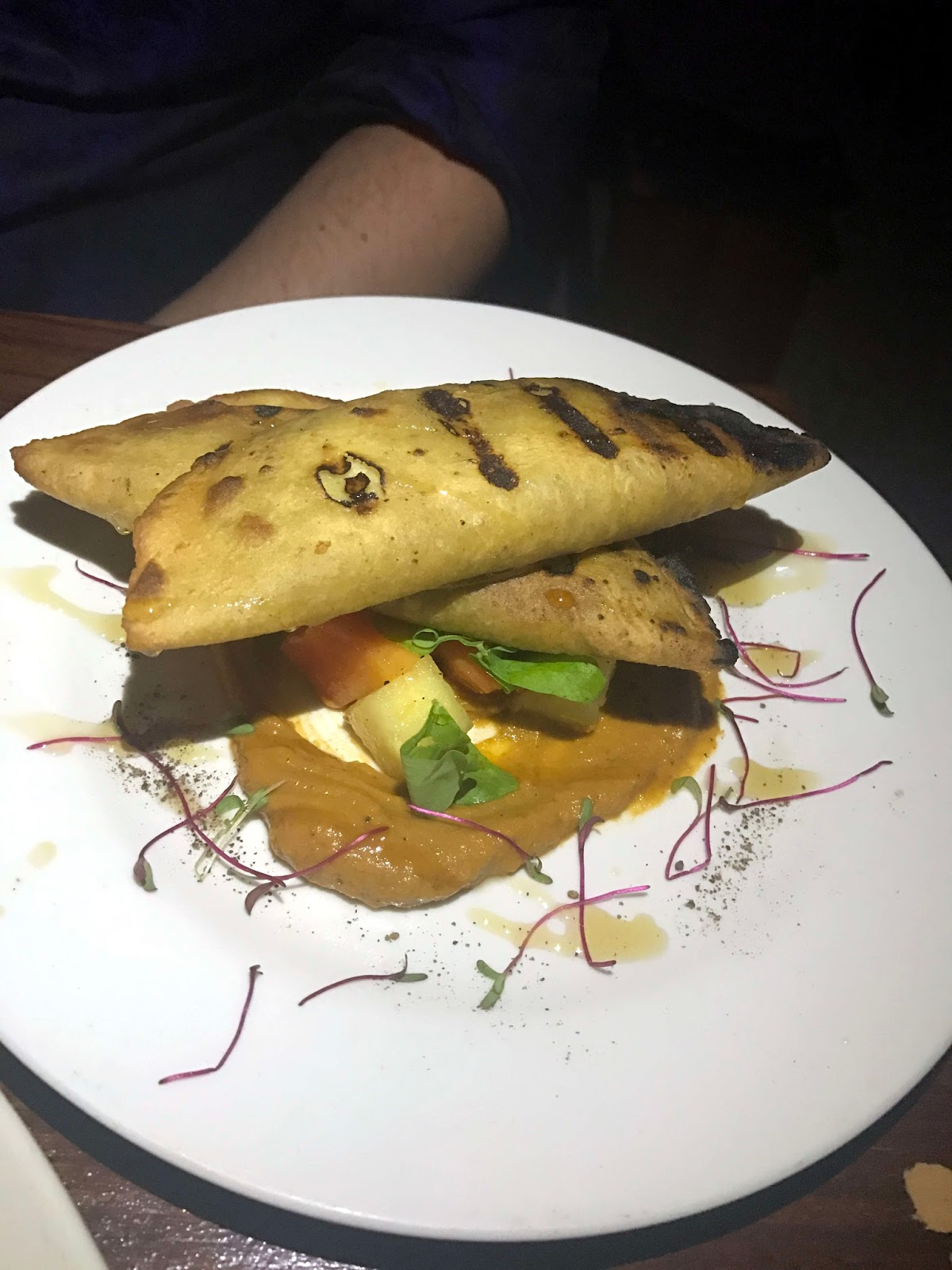 Stitch and Bear - Hartwood Tulum - Empanadas de papaya