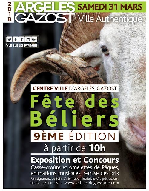 Fêtes des béliers Argelès Gazost 2018