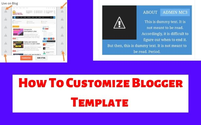 blogger template customize kaise kaise, minima colored 3 blogger template customize, blogger template tutorial