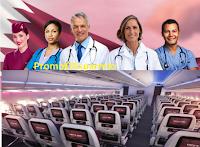 Logo Qatar Airways #ShareWithYourHero : 100.000 biglietti gratis per operatori sanitari