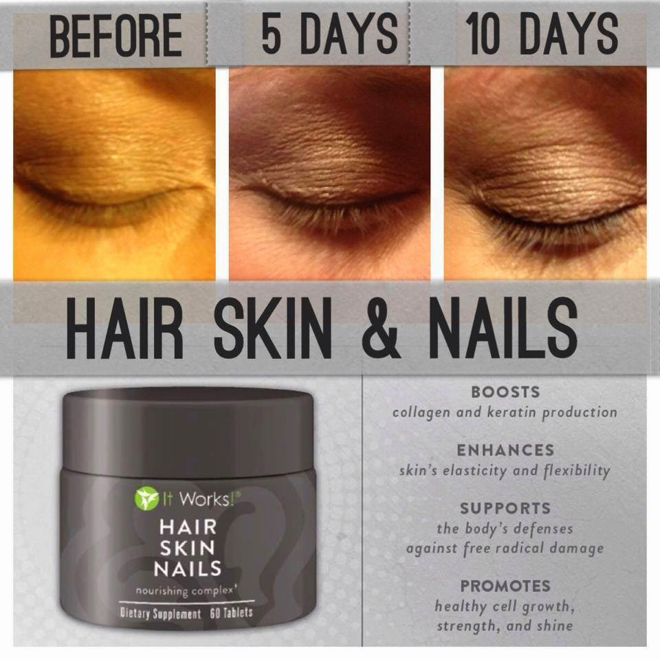 It works reviews hair skin nails
