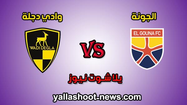 بث مباشر وادي دجلة مباراة الجونة ووادى دجلة بث مباشر اليوم 4-2-2020 يلا شوت الدوري المصري