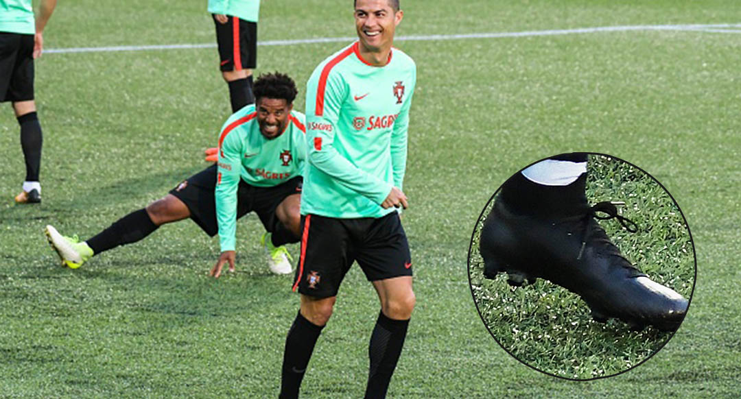 Ronaldo trains in blackout next gen nike mercurial superfly jpg 1080x582 Nike  mercurial cristiano ronaldo workout 243167a659bae