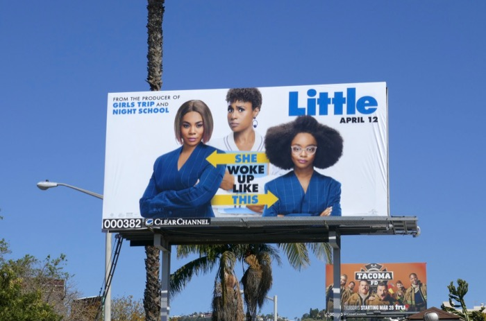 Little movie billboard