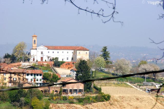 La Chiesa e Convento di Craviano nel comune di Govone