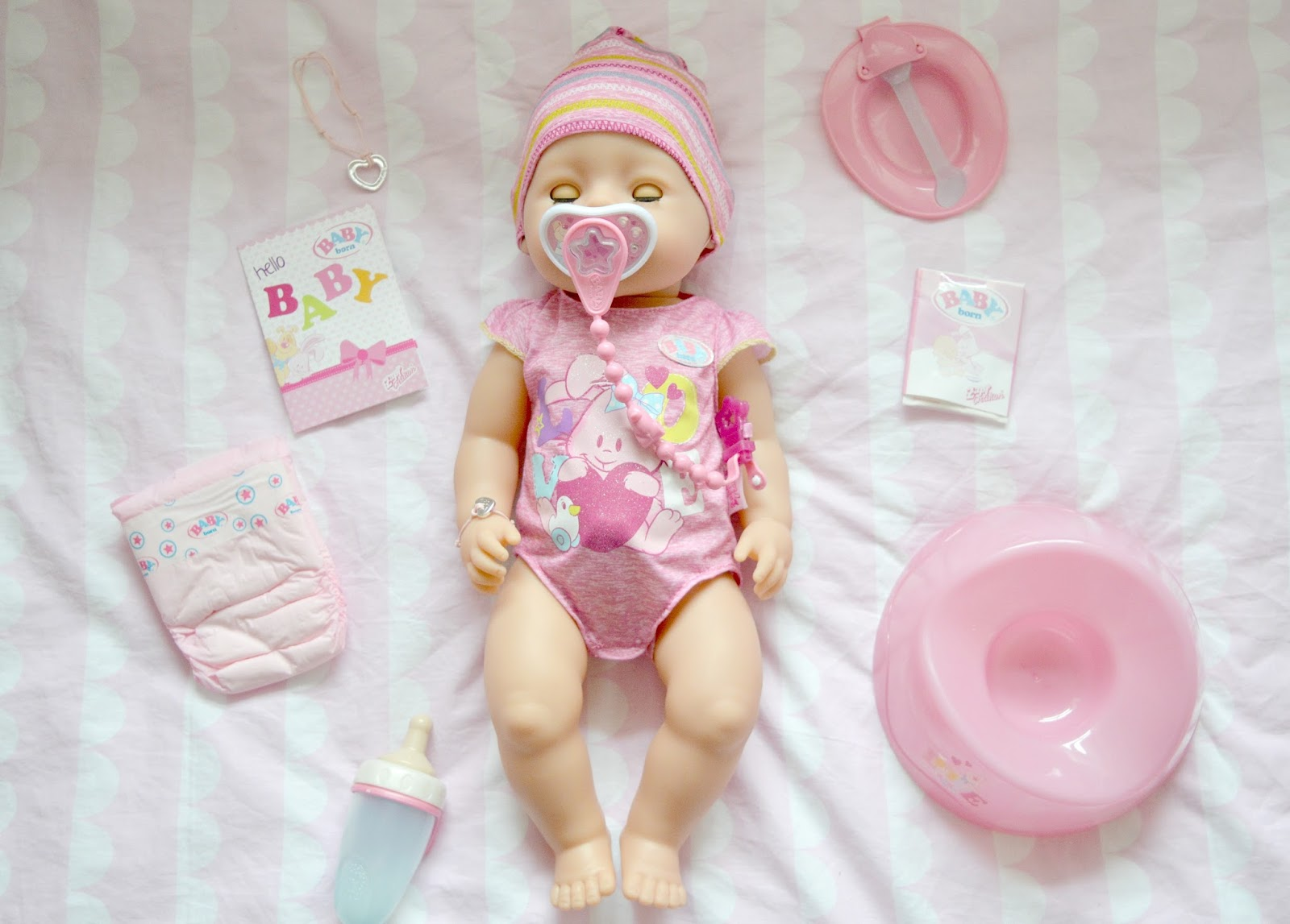 baby born interactive doll review sophie ella and me. Black Bedroom Furniture Sets. Home Design Ideas
