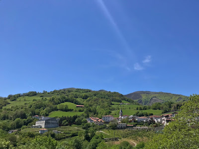 French Village Diaries back in the Pays Basque