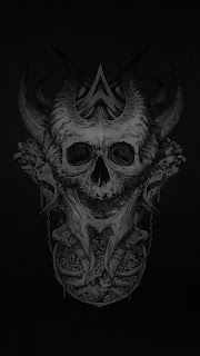 Dark Skull Mobile HD Wallpaper