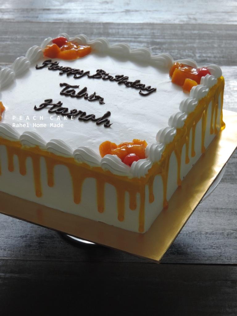 I Love Cake Peach Cake