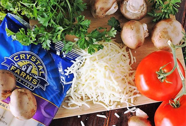 Italian Egg Casserole Ingredients Image