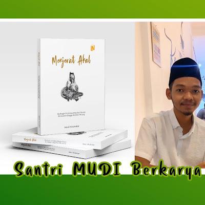 Menjelang Ramadhan, Santri MUDI Mesra Luncurkan Buku
