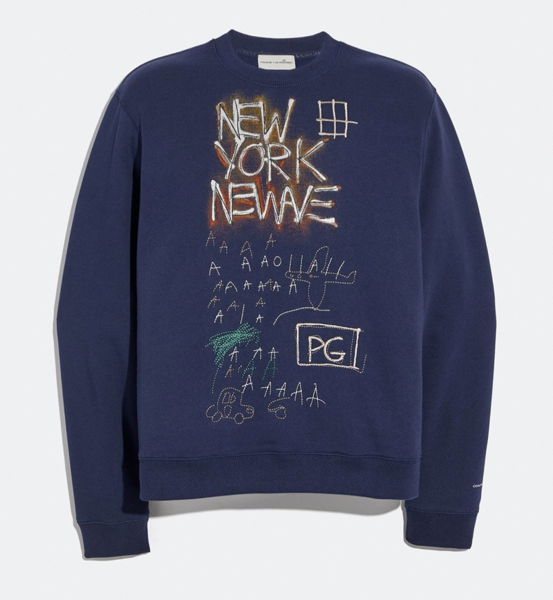 Coach x Jean-Michel Basquiat Sweatshirt in Blue
