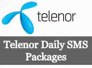 Telenor Daily, 24 Hours, 1-Day SMS Packages