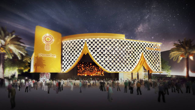 Thailand pavilion at Expo 2020 Dubai - UAE