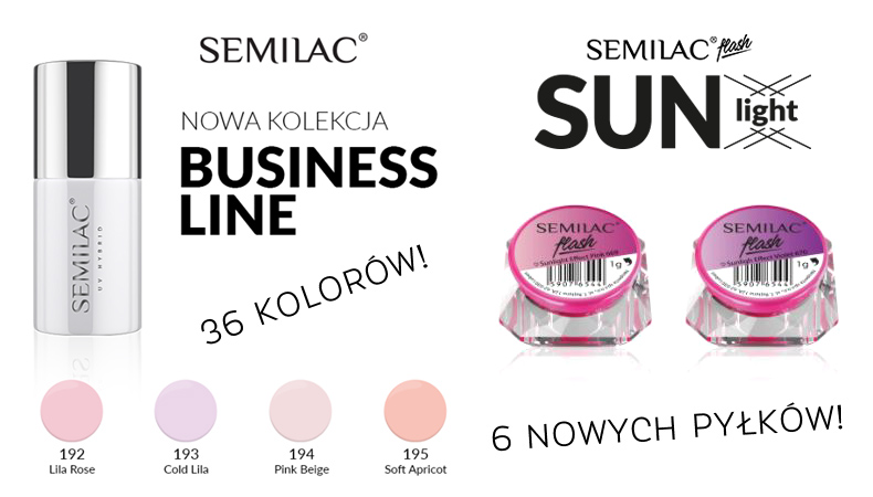 semilac business line sun light