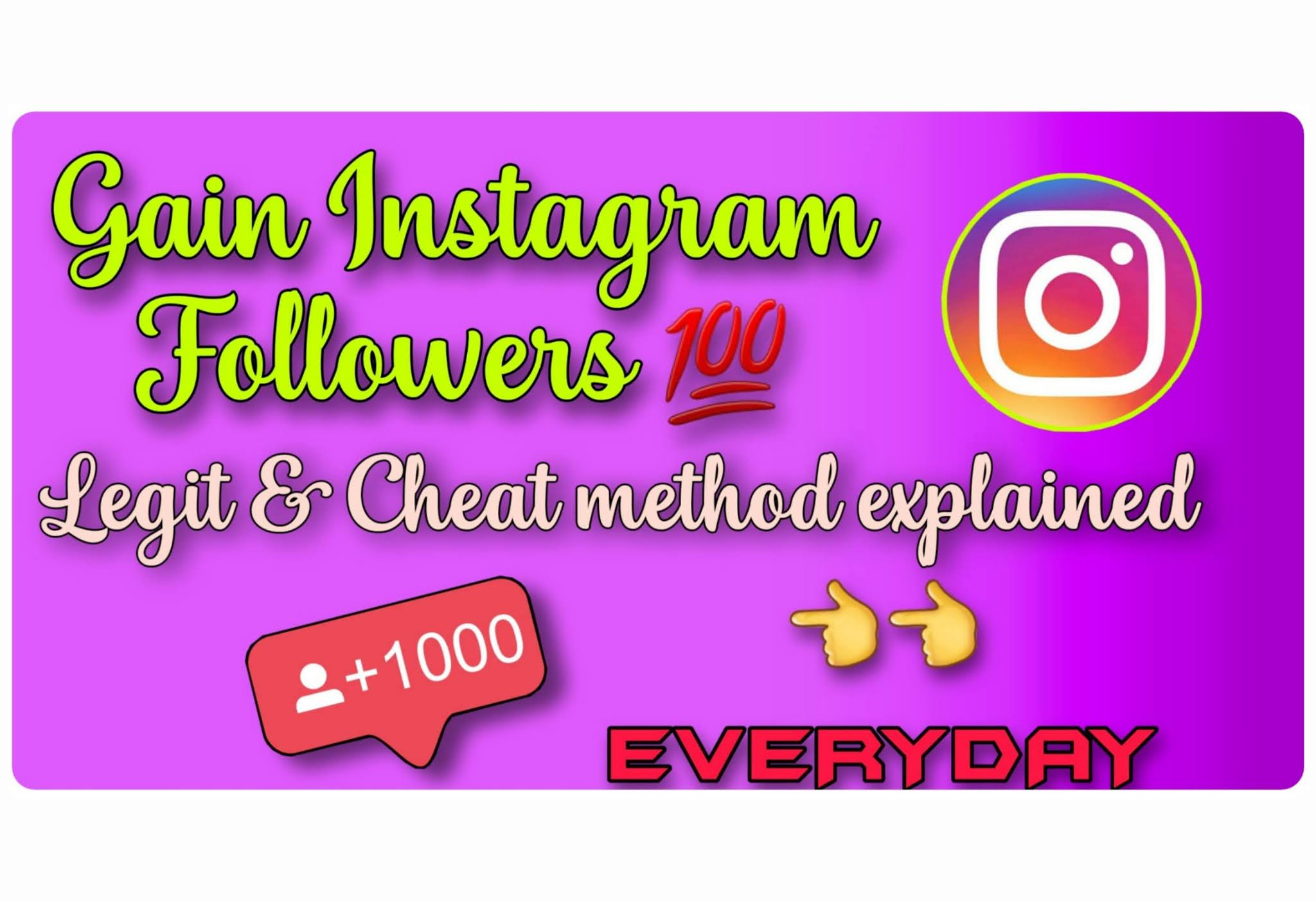 how to get free instagram followers instantly