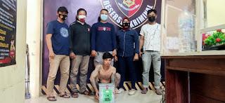 Resmob Sombaopu Berhasil meringkus Pencuri Celengan Masjid Syekh Yusuf