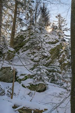 Rundweg Felswandergebiet  Wandern im Nationalpark Bayerischer Wald 23