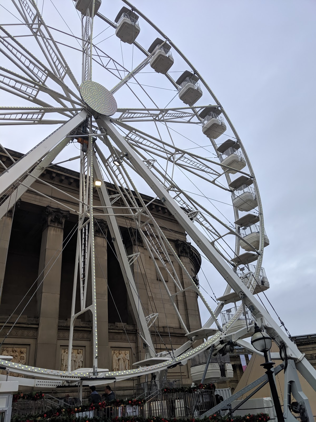 A Guide to Visiting Liverpool Christmas Markets & Lights  - ferris wheel