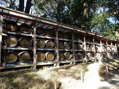 明治神宮葡萄酒樽