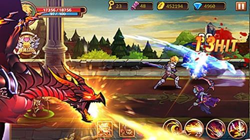 Screenshot Brave Fighter 2