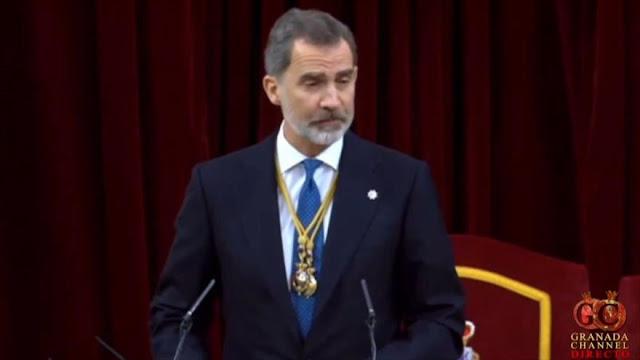 El rey de España inaugura la XIV Legislatura en las Cortes