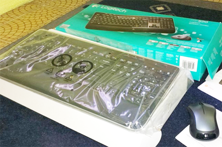 Keyboard Mouse Logitech MK235 Murah Berkulitas