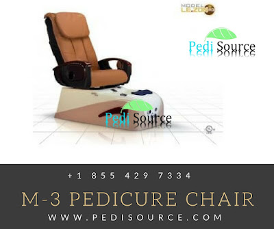 M-3 Pedicure Chair with modern features of a new pedicure chair