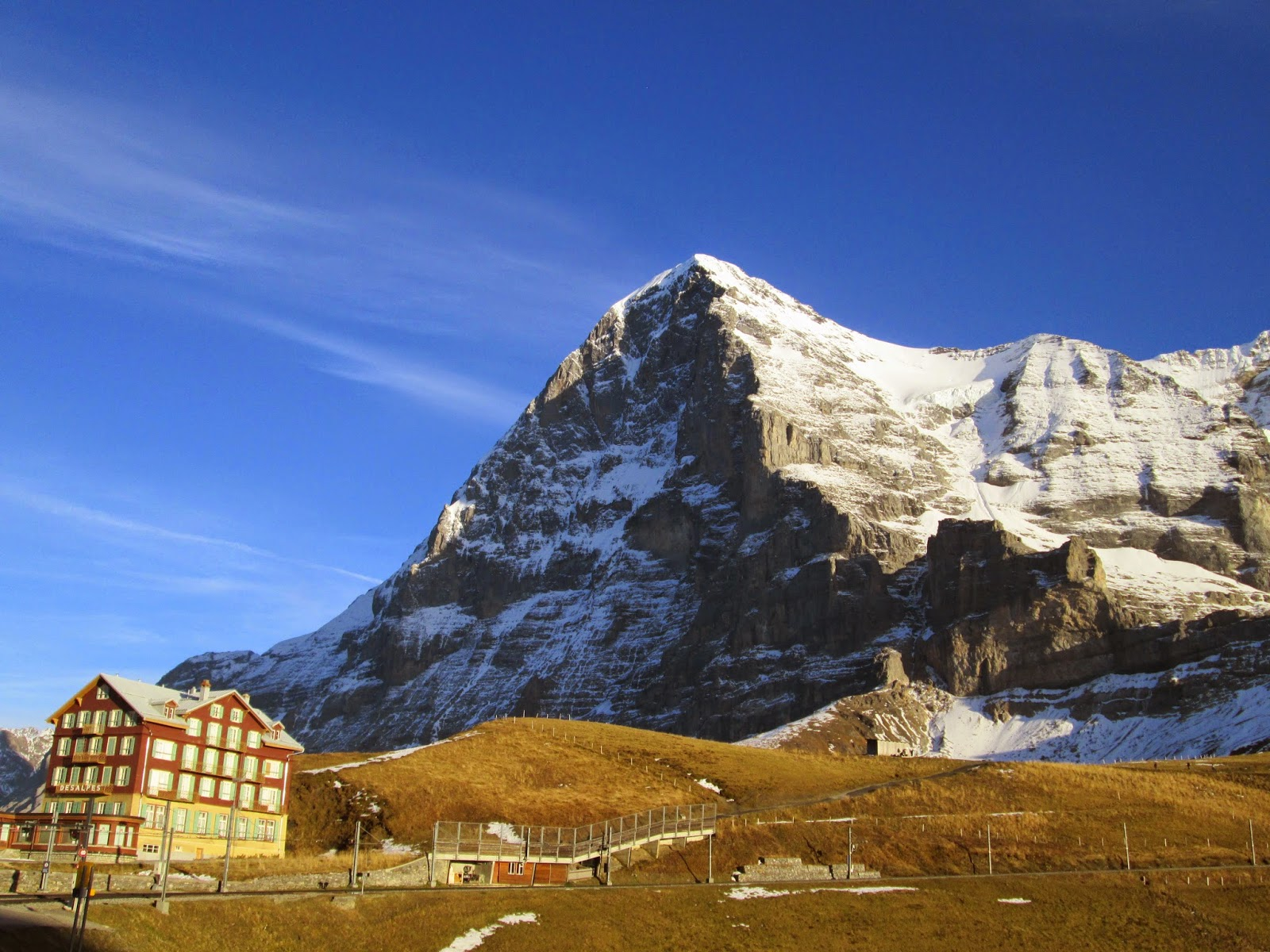 See eiger north face, successful firsts for additional information. Between Hangovers And Overhangs Eiger North Face
