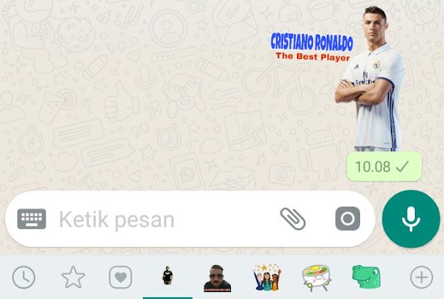 Cara stiker keren di Whatsapp