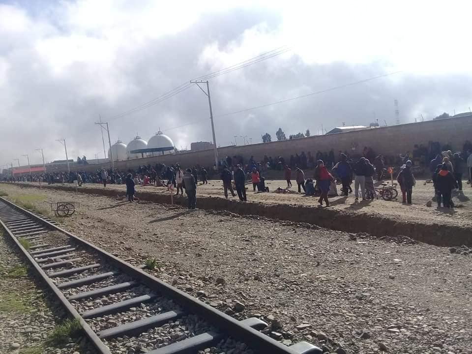 Pobladores de Senakata bloqueaban el ingreso a la planta de YPFB / AN BOLIVIA