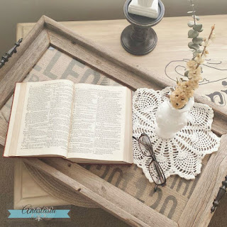 Upcycled Driftwood Serving Tray | Anastasia Vintage