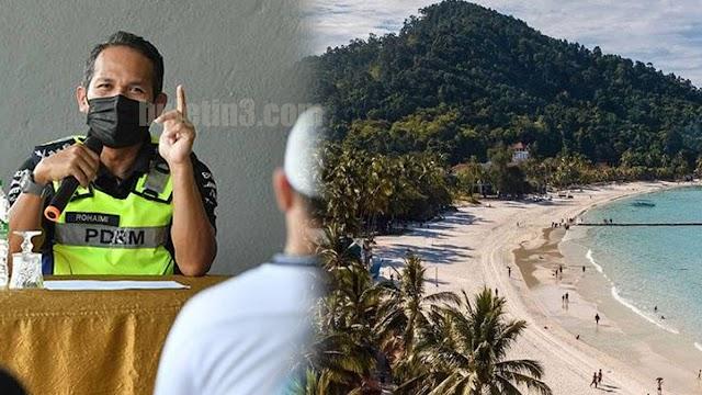 Enam individu dikompaun rentas negeri melancong ke Pulau Redang