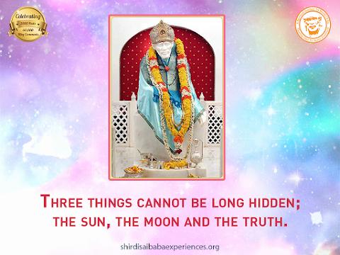 Truth - Sai Baba Idol In Temple Image