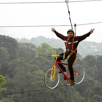 Spot Sepeda Gantung Ranggon Hills