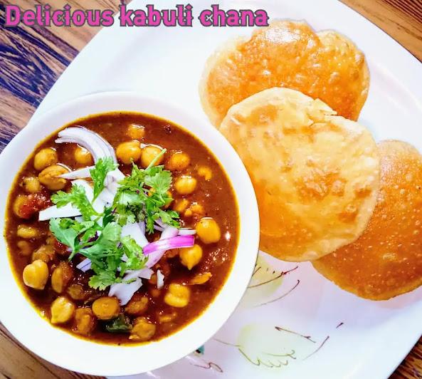 Kabuli chana or Chana Masala Recipe makes at home
