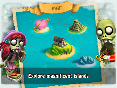 Download game android mod Zombie Castaways apk