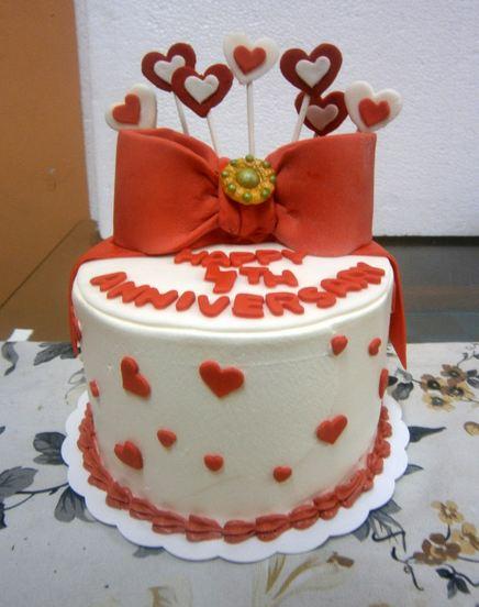 11 Gambar Kue Ulang Tahun Hari Jadian Atau Anniversary