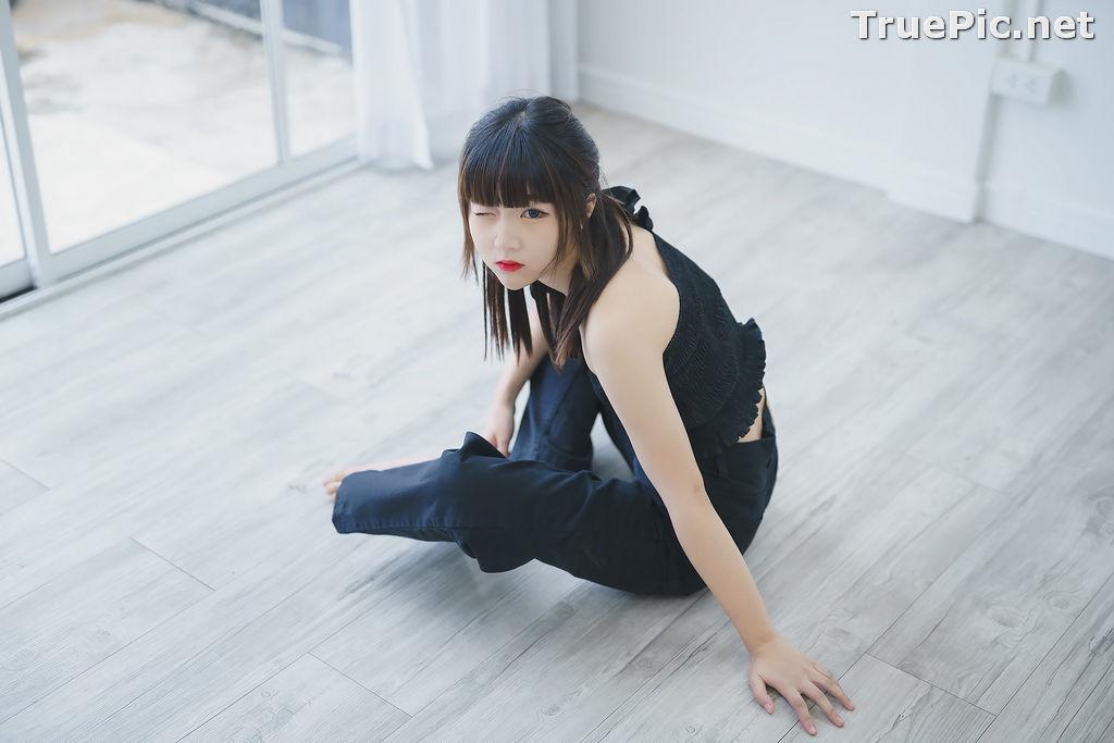 Image Thailand Model - Pakkhagee Arkornpattanakul - Cute Girl In Black - TruePic.net - Picture-5