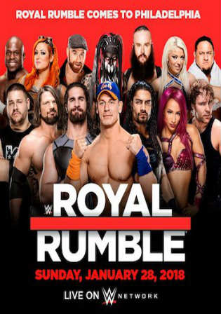 WWE Royal Rumble 2018 PPV WEBRip 700MB 480p x264 Watch Online Full Show Download Worldfree4u 9xmovies