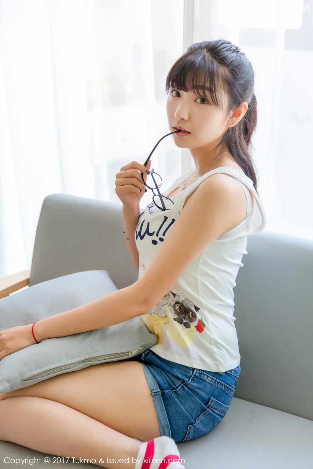 Image-Tukmo-Vol-095-Qiu-Qiu-Model-球球-You-Make-Me-Meow-TruePic.net- Picture-2