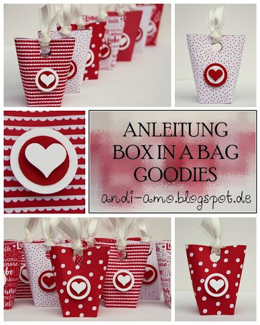 Anleitung für schnelle Box in a Bag Goodies