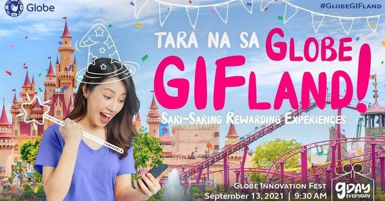Globe takes you to GIFLand! #GlobeGIFLand #MediaLaunch