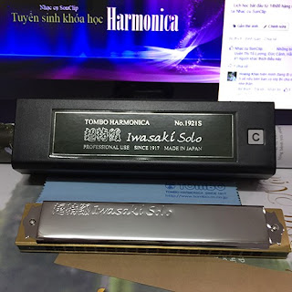 Kèn Harmonica - Tombo Super 21 Deluxe Iwasaki (Key C)