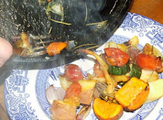roast skirret and other vegetables