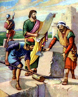 Nehemiah directs reconstruction clipart.christiansunite.com